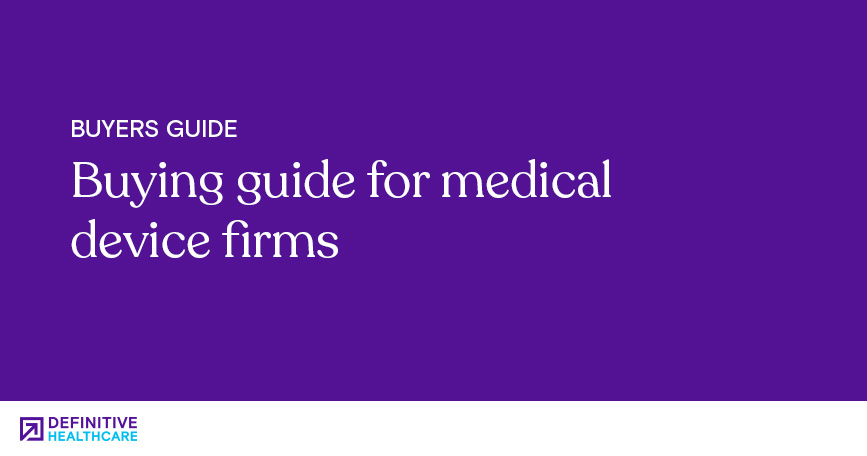 BuyersGuide_Buying guide for medical device firms