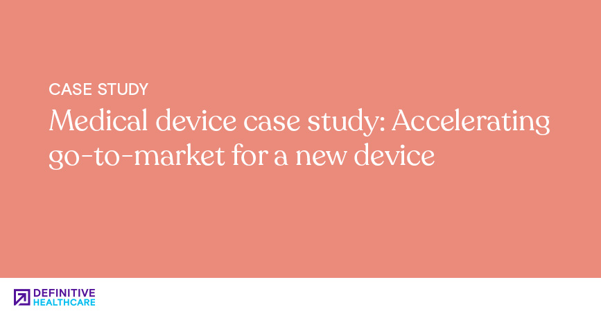 Case Studies - Medical device case study