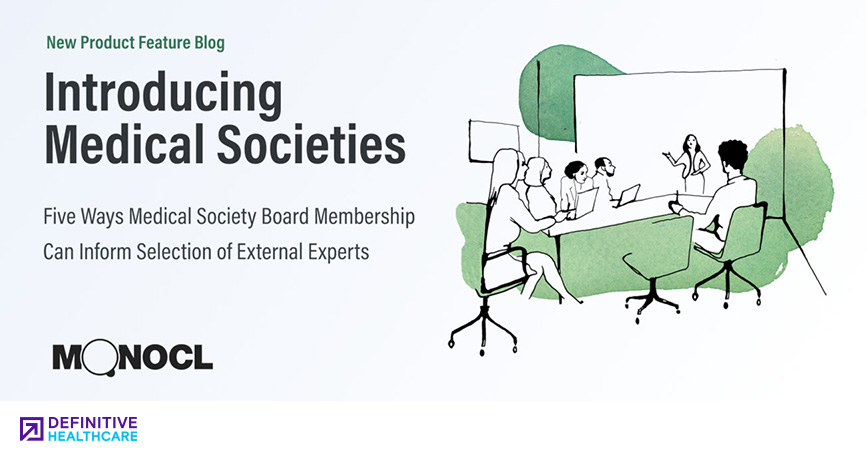 Five Ways Medical Society Board Membership Can Inform Selection of External Experts