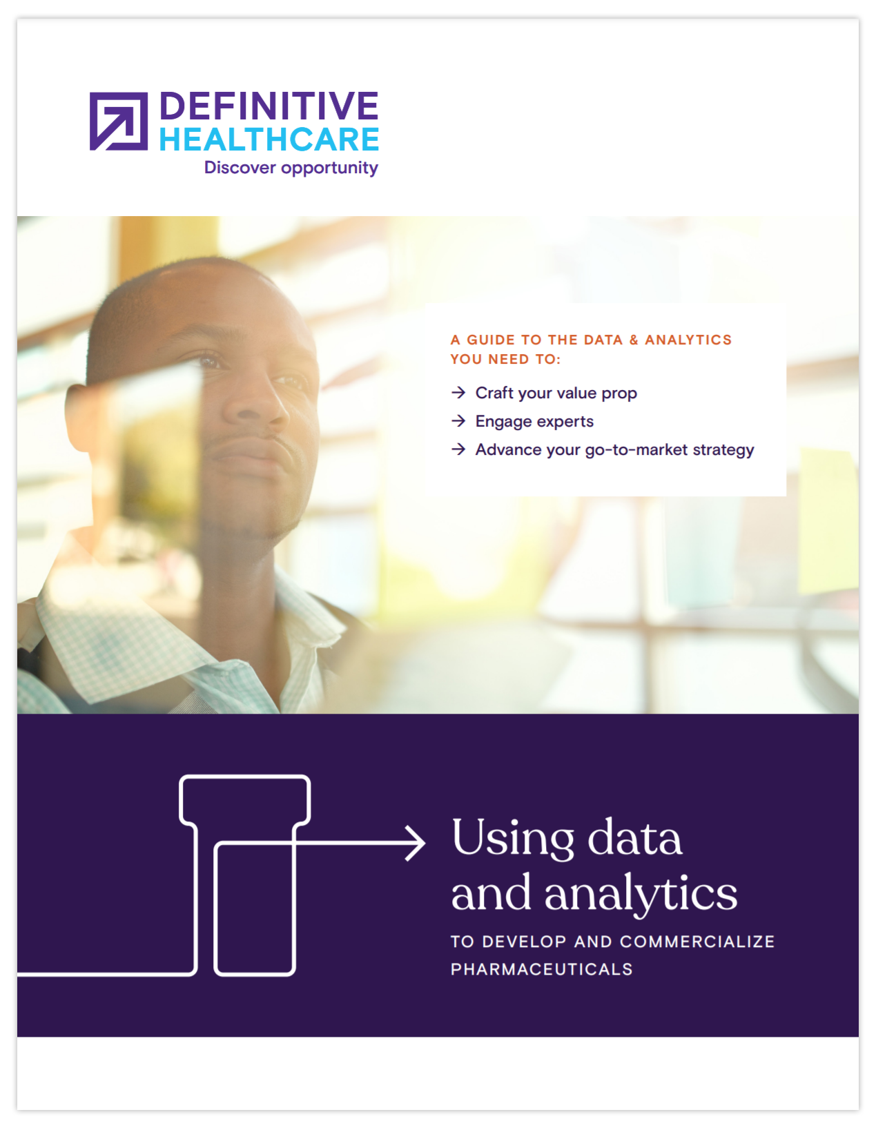 Using data and analytics to develop and commercialize pharmaceuticals