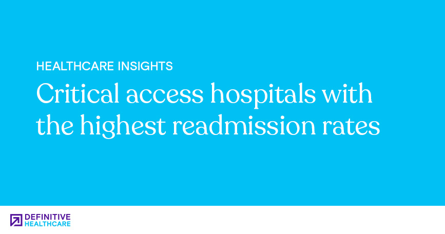 Critical Access Hospitals with the Highest Readmission Rates