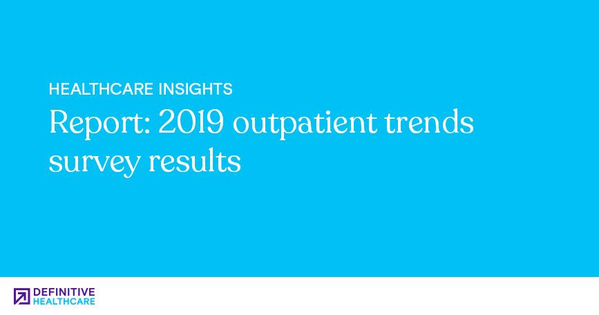 Report 2019 Outpatient Trends Survey Results