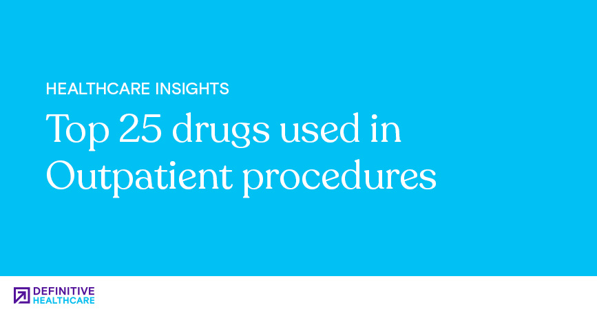 Top 25 Drugs Used In Outpatient Procedures