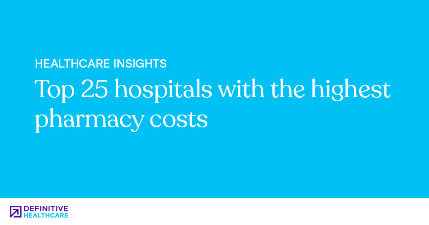 Top 25 Hospitals with the Highest Pharmacy Costs