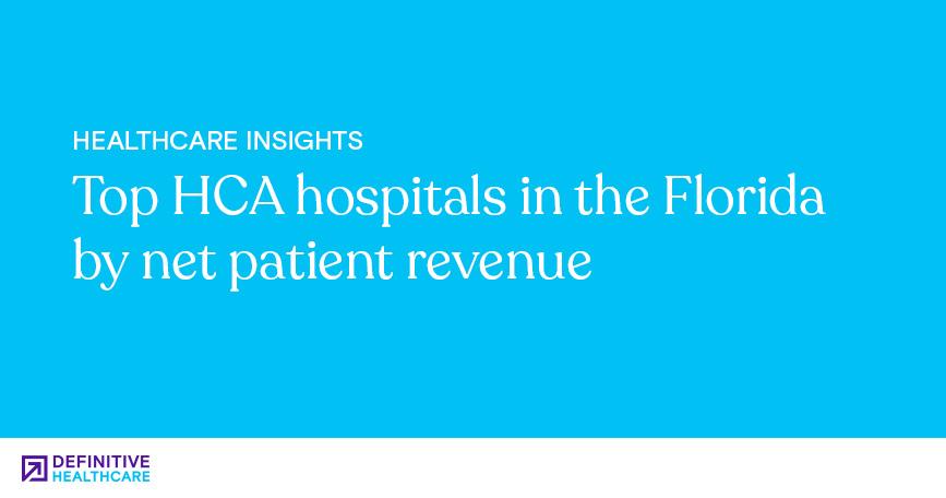 Top HCA Hospitals in Florida by Net Patient Revenue