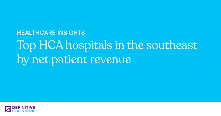 Top HCA Hospitals in the Southeast by Net Patient Revenue