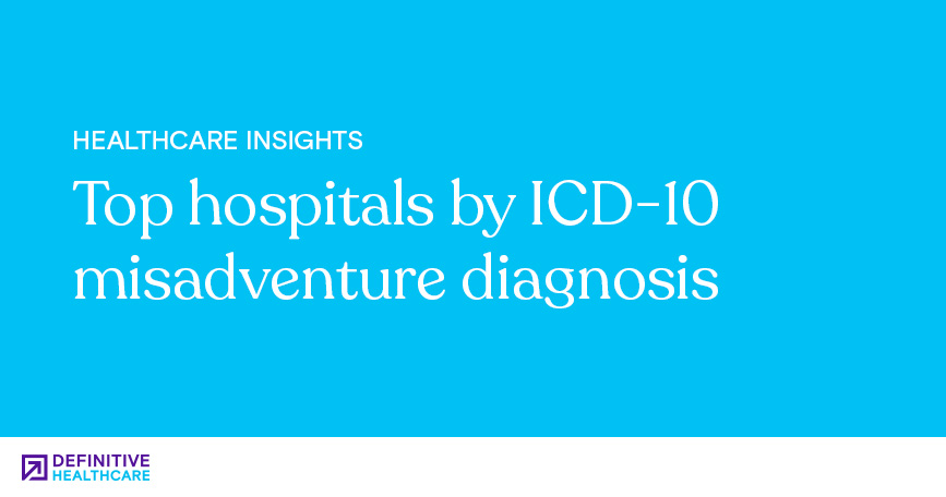 Top Hospitals by ICD-10 Misadventure Diagnosis