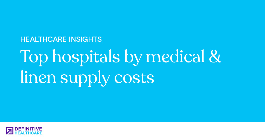 Top Hospitals by Medical & Linen Supply Costs
