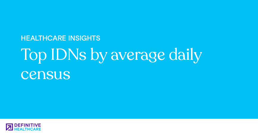 Top IDNs by Average Daily Census