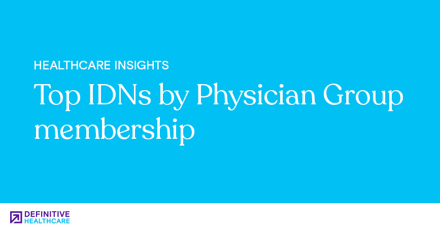 Top IDNs by Physician Group Membership