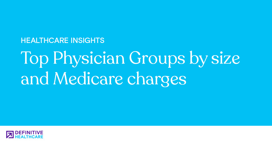 Top Physician Groups by Size and Medicare Charges