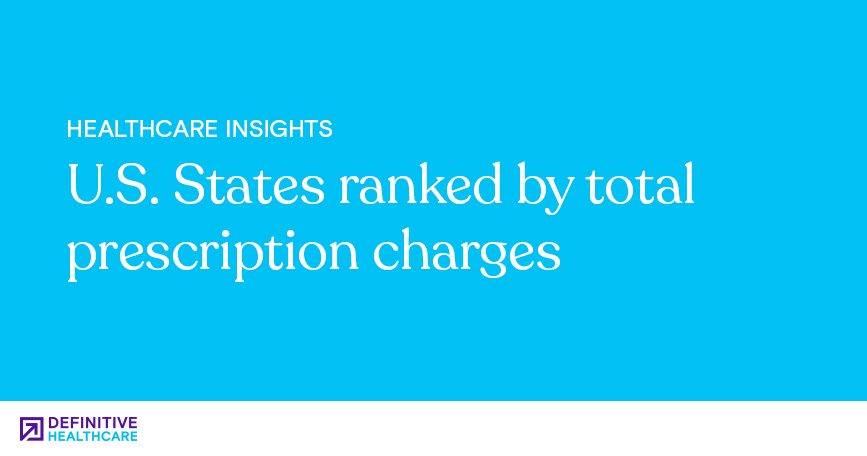 U.S. States Ranked by Total Prescription Charges