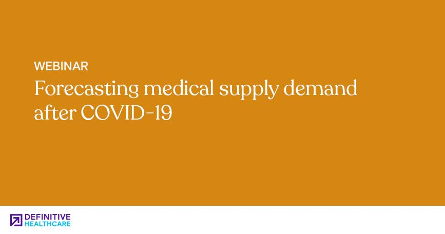 Forecasting medical supply demand after COVID-19